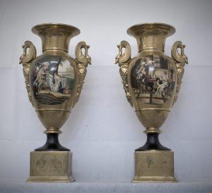 Lot. 20 Pair of vases