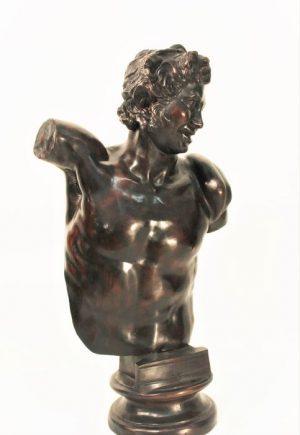 Lot. 20 bronze sculpture the young man