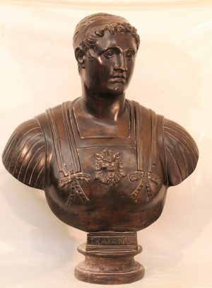 Lot. 38 Bust of Trajan
