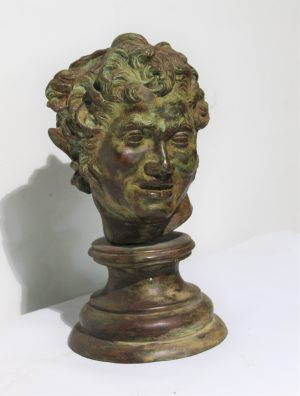 Lot. 1 Faun in bronze